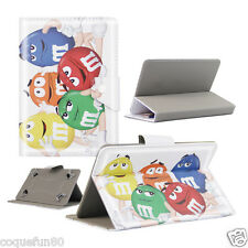 Housse Etui Tablette Acer Iconia One 7 - Motif MM'S - Depart de France