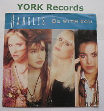 """BANGLES - Be With You - Excellent Condition 7"""" Single CBS BANGS 6"""