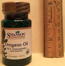 Oil of Oregano Extract, 10:1 Concentrate, from Swanson     120 softgels