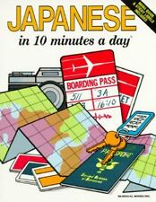 Ten Minutes a Day: Japanese in 10 Minutes a Day by Kristine K. Kershul (1995,...