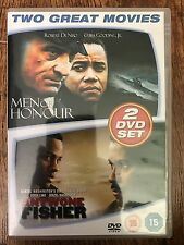 ANTWONE FISHER / HOMBRES DE HONOR ~ True Life Drama Double Bill GB DVD