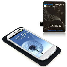 Qi Wireless Ladegerät Charging Pad + Receiver Kit for Samsung Galaxy S3 i9300