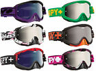 SPY OPTICS WHIP MOTOCROSS MX MIRRORED GOGGLES enduro bike bmx NEW