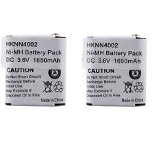 2x1650mAh 3.6V Ni-MH battery For MOTOROLA 53615 KEBT-071-A KEBT-071-D KEBT-071-C
