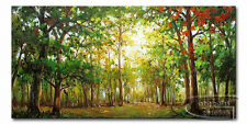 MODERN ABSTRACT CANVAS ART WALL DECOR OIL PAINTING-TREE X317