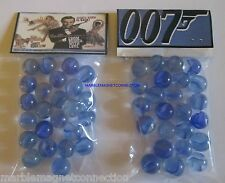 2 BAGS OF JAMES BOND 007 / FROM RUSSIA WITH LOVE ADVERTISING PROMO MARBLES