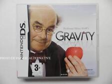 jeu GRAVITY sur nintendo DS en francais game juego spiel juego gioco complet TBE