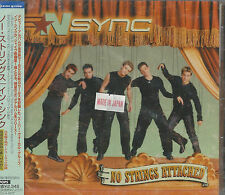 SEALED JAPAN IMPORT No Strings Attached (+3 Bonus Tracks) by NSync (2000, CD)