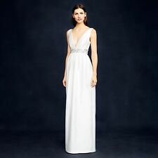 J Crew Annabelle Wedding Gown Dress Ivory $895 Size 4 NWTS!!! WEDDING!!!