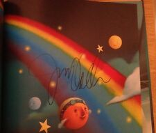 SIGNED Over the Rainbow with CD by Judy Collins HC 1/1 + PHOTO