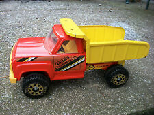 "TONKA CONSTRUCTION DUMP TRUCK 14"" LONG VINTAGE COLLECTABLE Toy Tonka Metal Truck"