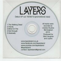 (FE901) Layers, Layers EP (debut) - 2013 DJ CD