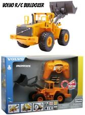 "1:32 Kids 12"" R/C Volvo BULLDOZER LOADER Remote Control Construction GIFT RC Set"