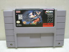 SUPER NINTENDO SNES BATMAN FOREVER GAME CLEANED & TESTED