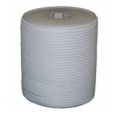 """T.W .Evans Cordage 81-010 1/4"""" by 600-Feet Twisted White Polypro Rope, White New"""