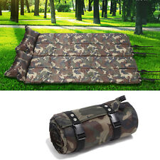 New Camping & Hiking Self-Inflating Sleeping Pad Army Green Pads 72 inch