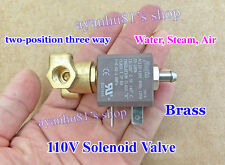 110V AC 2-Position 3-Way NC Electric Control Solenoid Valve for Gas Water Air