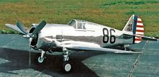 Curtiss P-36 Hawk Fighter Airplane Wood Model Replica Small Free Shipping