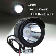 4x Vehicle Car Truck Bus SUV ATV Boat Motorcycle Bike LED Headlight Spotlight