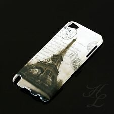 Apple iPod Touch 5 5G Hard Case Schutz Hülle Etui Motiv France Paris Eiffelturm