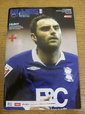 20/12/2008 Birmingham City v Reading  (mark on front). Trusted sellers on ebay b