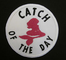 Catch of the Day Mermaid Women Sexy Fish  Iron or Sew On Patch