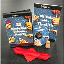 Thumb Tip Kit Magic Trick Set DVD Book Thumb Tip & Silk