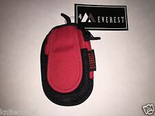 EVEREST MP 3 CLIP ON PHONE ORGANIZER IPOD MP 3  NEW DISCONTINUED MODEL RED