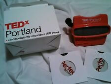 TEDx Portland Image 3D Viewer Discs Original Box TEDx Portland OR PERFECT Event