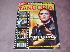 FANGORIA # 18, Cat People, Creepshow, Carpenter's The Thing, FREE SHIPPING USA