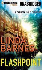Carlotta Carlyle: Flashpoint 8 by Linda Barnes (2014, MP3 CD, Unabridged)
