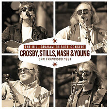 CROSBY STILLS NASH & YOUNG New 2016 UNRELEASED LIVE 1991 REUNION CONCERT CD