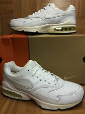 VTG�� Nike Air Max Burst 1 White Leather Black OG Early 2000s Made In Korea 11.5