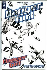 DANGER GIRL RENEGADE #4 SUB COVER SCOTT CAMPBELL IDW VF/NM