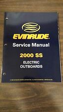 NICE 2000 OMC Evinrude SS Electric Outboard Trolling Motor Service Manual 787059