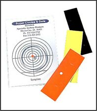 Specialty Archery Circle/Dot Combo Pack, Orange/Black/Yellow.