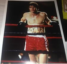 Dennis Quaid Tough Enough Boxing Hand Signed 11x14 Photo Autographed w/COA