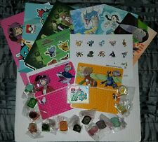 HUGE Nintendo Pokemon League TCG Lot Pins Patch Stickers & More Free Shipping
