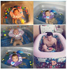 HOT!Inflatable Adjustable Double Protection Collar Baby Swimming Neck Float Ring
