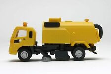 N Scale Fujimoto Pro-Hobby Kato HS-60 Street Sweeper Truck Yellow