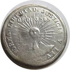 elf Mexico Revolution Guerrero 2 Pesos 1914 Silver/Gold