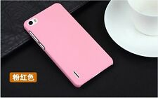 Colorful Matte Hard Plastic Case Phone Back Cover For Huawei Honor 6