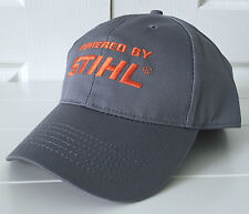 Stihl Outfitters Gray Fabric Hat Cap Powered By STIHL