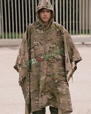 Poncho Militare MULTICAM Antipioggia Antistrappo 3 IN 1