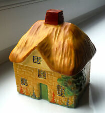 CARLTON WARE THATCHED COTTAGE PRESERVE - RD 754901 (1930s)