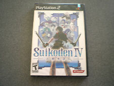 Suikoden IV  PS2   NEW    Suikoden 4  PlayStation 2
