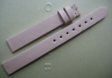 GENUINE BLANCPAIN LADIES WATCH 11 mm STRAP BAND PALE PINK FABRIC SATIN 11/10 NEW