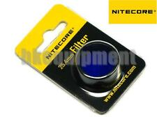 NiteCore NFB25 25.4mm Blue Lens Cap Filter for EA1 EA2 EC1 EC2 MH1A Flashlight