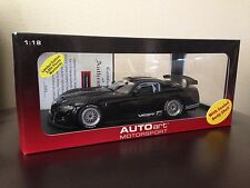 1/18 AUTOart Dodge Viper Competition Car 2004 Black Diecast Model Ltd. Edition