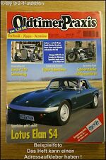 Oldtimer Praxis 6/01 Lotus Elan S4 Hot Rod Horch